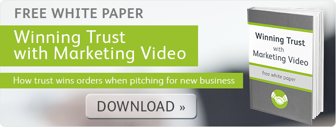 Winning Trust with Marketing Video
