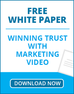 Free white paper : Winning trust with Marketing Video