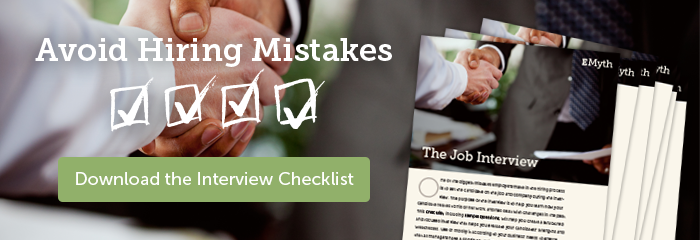 Avoid Hiring Mistakes: Download the Interview Checklist