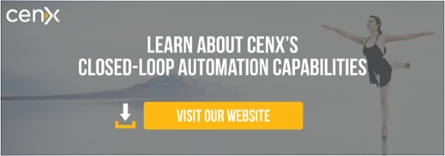 Learn about CENX's closed-loop automation capabilities