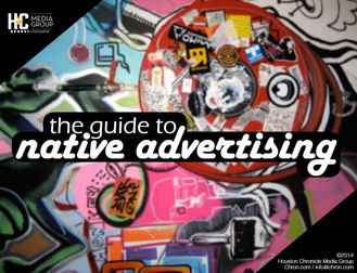 the guide to native advertising