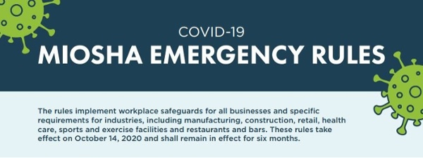 MIOSHA COVID-19 EMERGENCY RULES