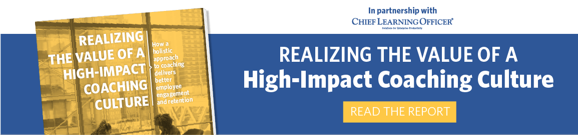 Realizing the Value of a High Impact Coaching Culture: Read the Report