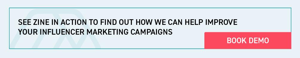 Influencer marketing platform demo