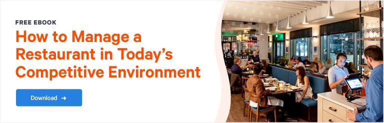 Restaurant Management Ebook