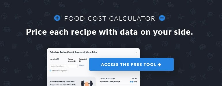 Food cost formula how to calculate food cost percentage food cost calculator forumfinder Images