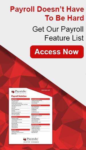 Payroll Feature List CTA Vertical