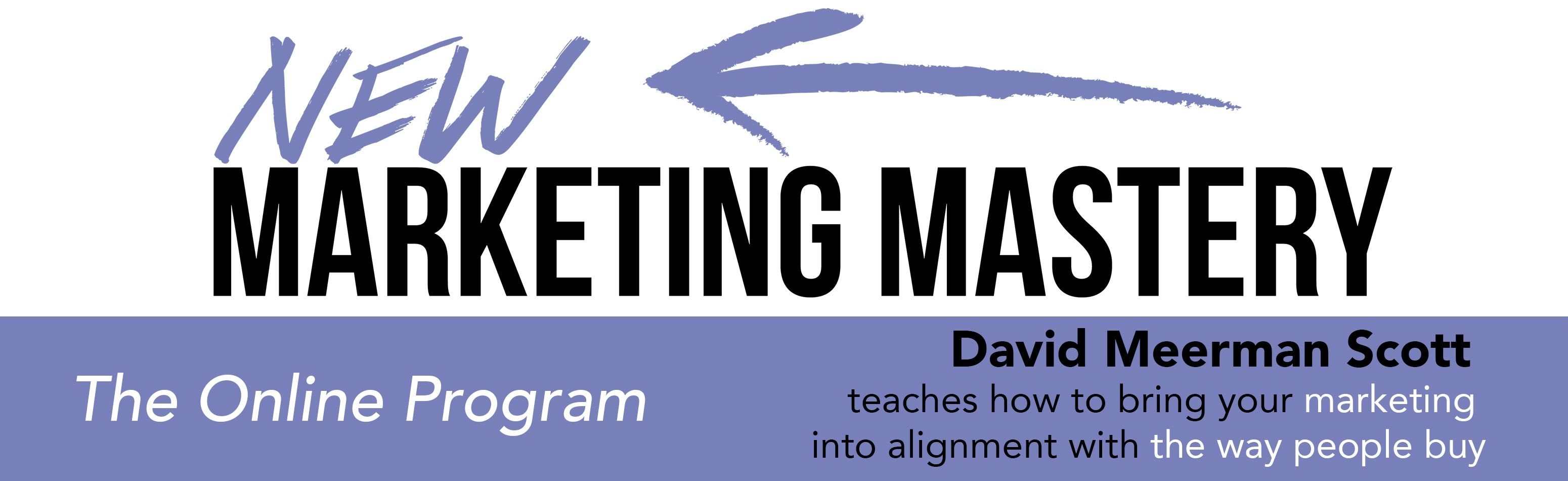 New Marketing Mastery