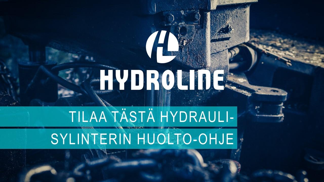 Tilaa hydraulisylinterin huolto-opas