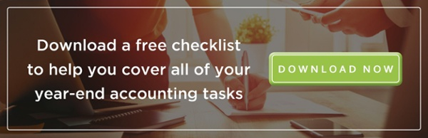 year-end business accounting checklist