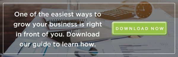 One of the easiest ways to grow your business is right in front of you. Download our guide to learn how.