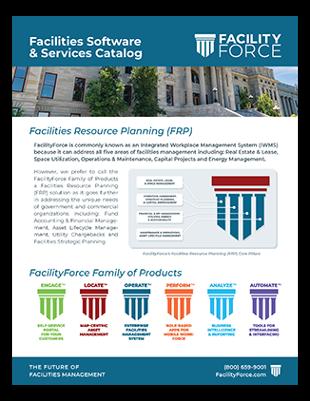 FacilityForce Software & Services Catalog