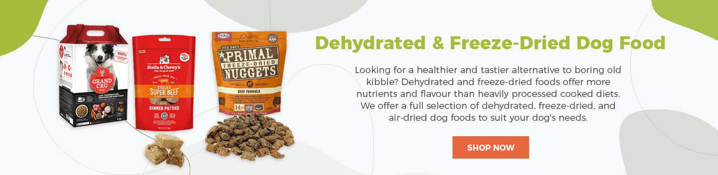 dehydrated dog food