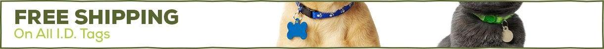 Free Shipping - Pet ID Tags