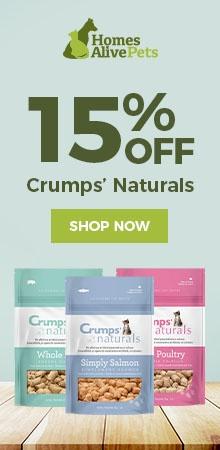 Crumps' Naturals 15% off