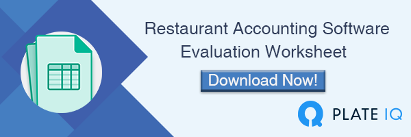 Download a free Restaurant Accounting Evaluation Worksheet now!