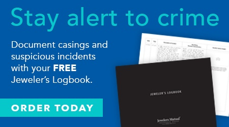 Order Your Suspicious Incident Logbook