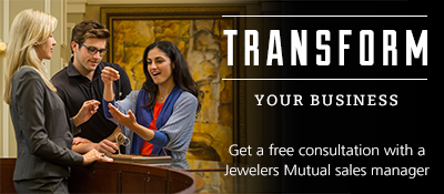 Consultation with Jewelers Mutual sales manager