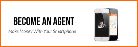 Learn more about the app that pays you - Become an Agent.