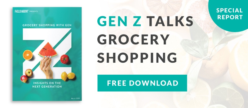 Gen Z Grocery Shopping Report Download