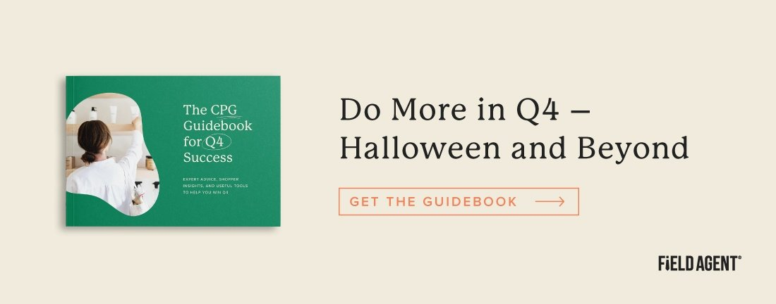 Do more in Q4 this halloween season with Field Agent