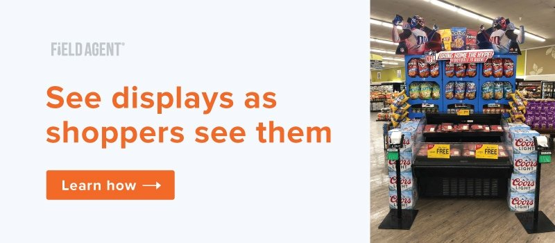 See displays as shoppers see them