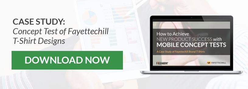 Case Study: Concept Test of Fayettechill T-Shirt Designs