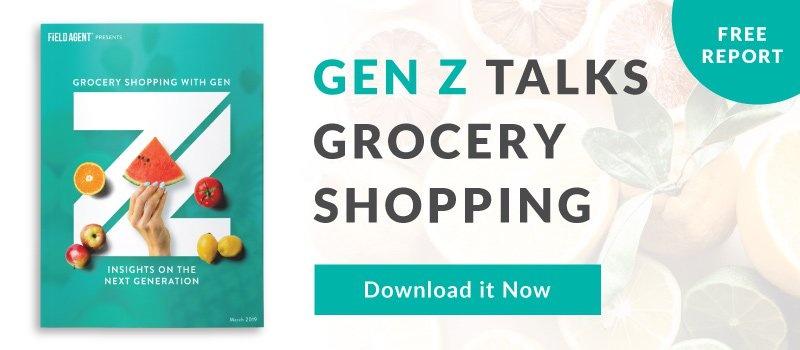 Gen Z Talks Grocery Shopping - Free Report
