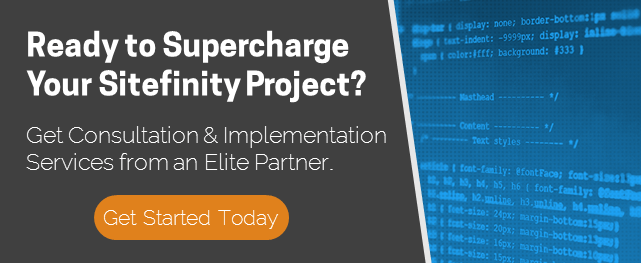 Ready to Supercharge Your Sitefinity Project