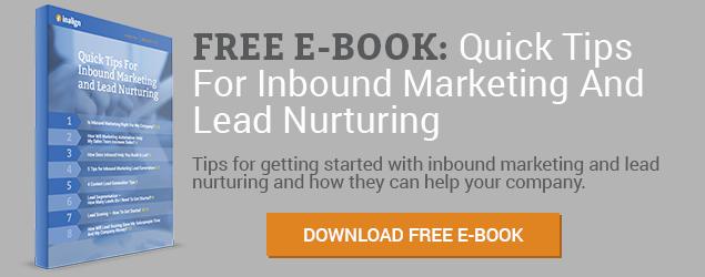 Download Quick Tips For Inbound Marketing and Lead Nurturing