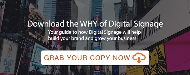 Why Digital Signage