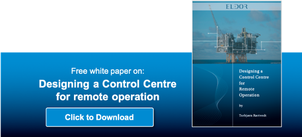 Designing a Control Centre for Remote operation in the oil and gas industry