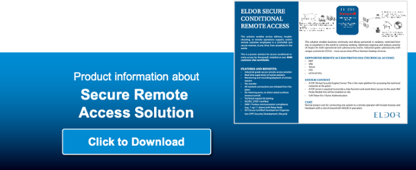 Securing remote access with Eldor and Honeywell