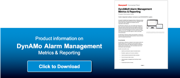 DynAMo Alarm management software for metrics and reporting on alarm management systems by Honeywell
