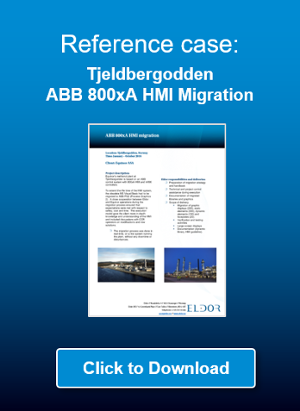 Click to download reference case: Equinor (Statoil) Tjeldbergoden ABB 800xA HMI Migration
