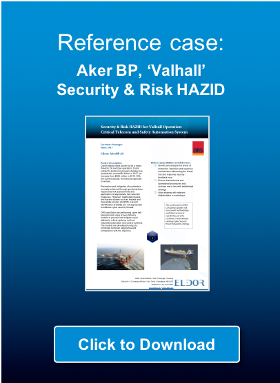Click to download reference case: Aker BP Valhall, Security & Risk HAZID