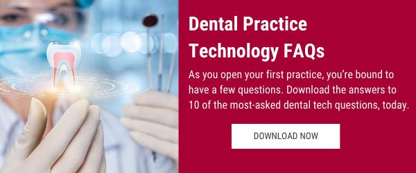 FAQs about dental practice technology ebook CTA