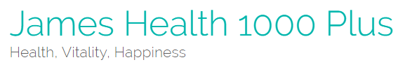 James Health 1000 Plus logo