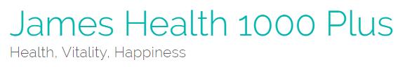 James Health 1000 Plus logo