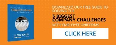 Solve the 5 biggest company challenges with uniforms.