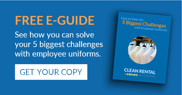Get your guide to solving the 5 biggest challenges with employee uniforms!