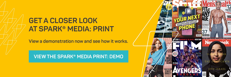SPARK Media Print Demo