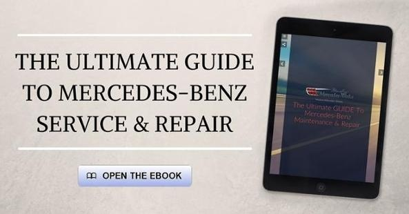 The Ultimate Guide To Mercedes-Benz Service Ebook