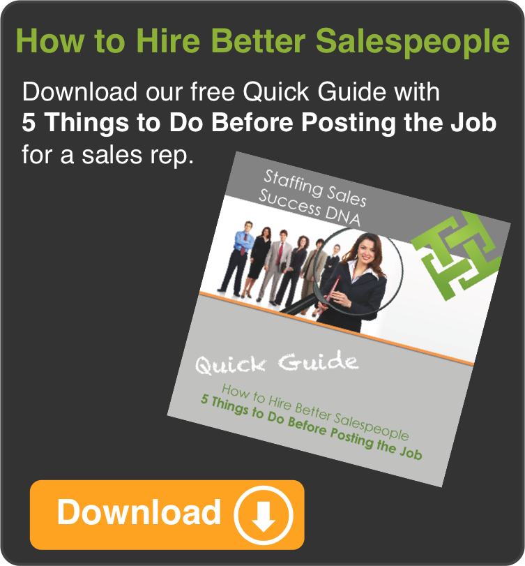 Quick Guide: 5 Things to Do Before Posting the Job for a Sales Rep