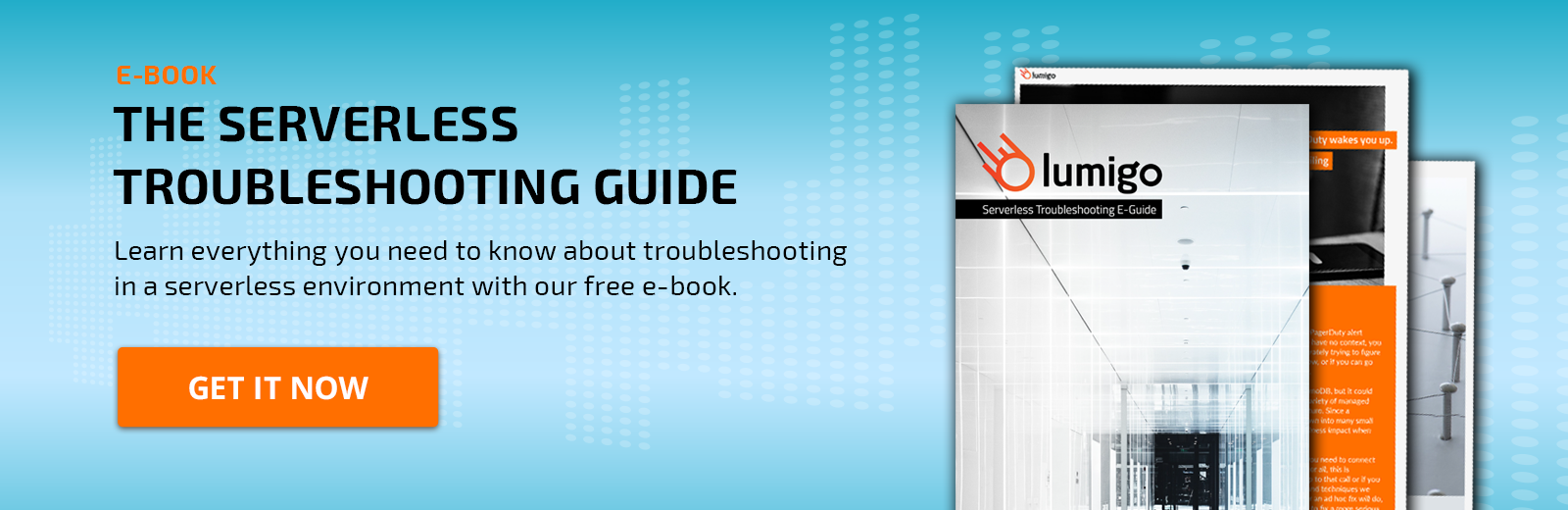 Free E-Book - The Serverless Troubleshooting Guide
