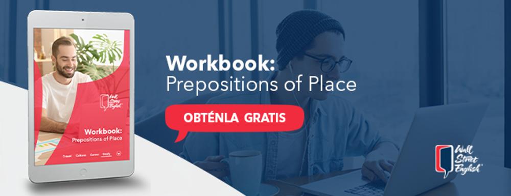 ebook online sobre preposiciones de lugar en ingles