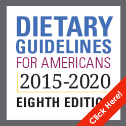 New Dietary Guidelines for 2015-2020