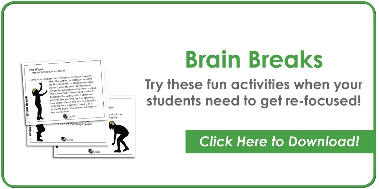 Brain Break - Physical Activity in the Classroom