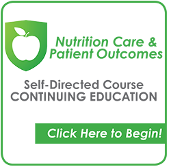Nutrition Care & Patient Outcomes CEU Course