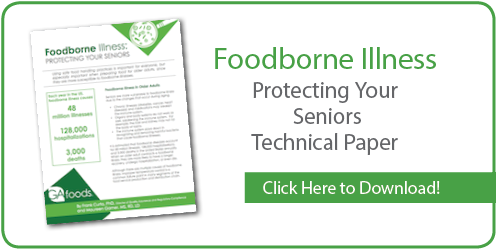 Foodborne Illness:  Protecting Your Seniors Technical Paper
